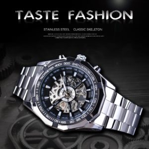 Transparent Mechanical Male Wrist Watch
